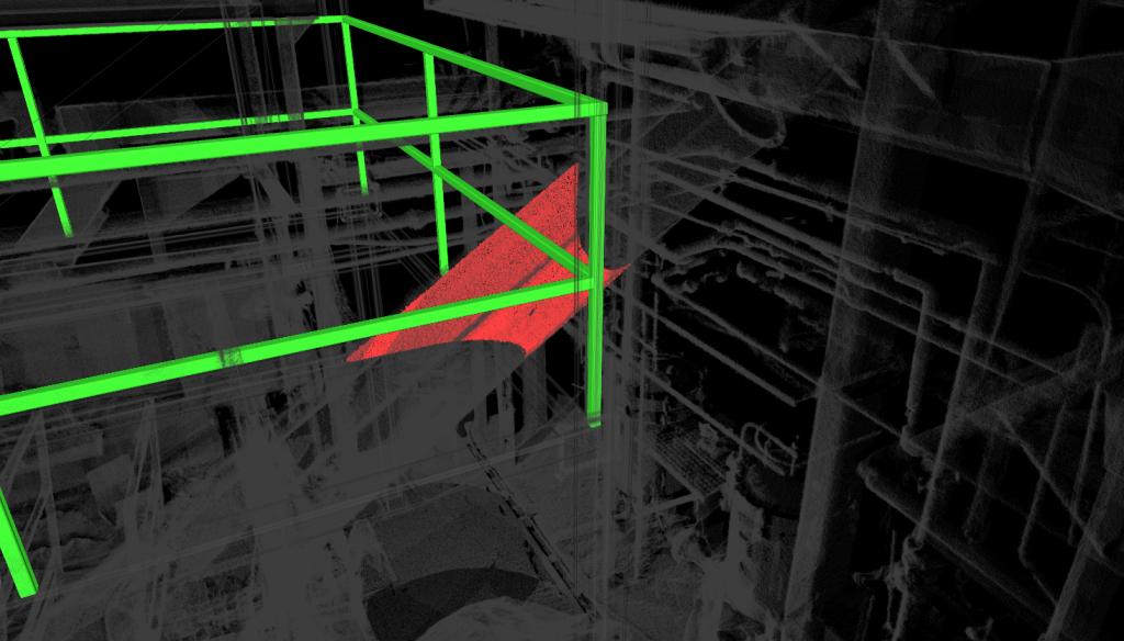 Clash Detection 3D Scan