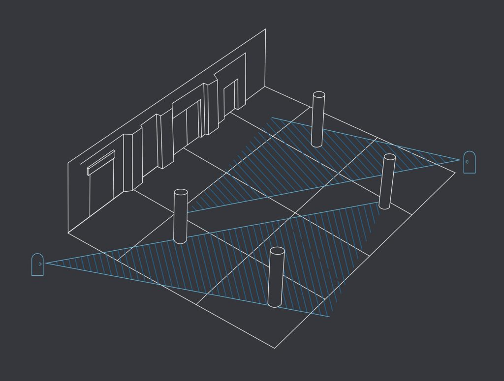 3D Scanners Measuring Room